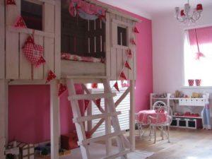 Kinderkamer idee n en voorbeelden - Slaapkamer van een meisje ...