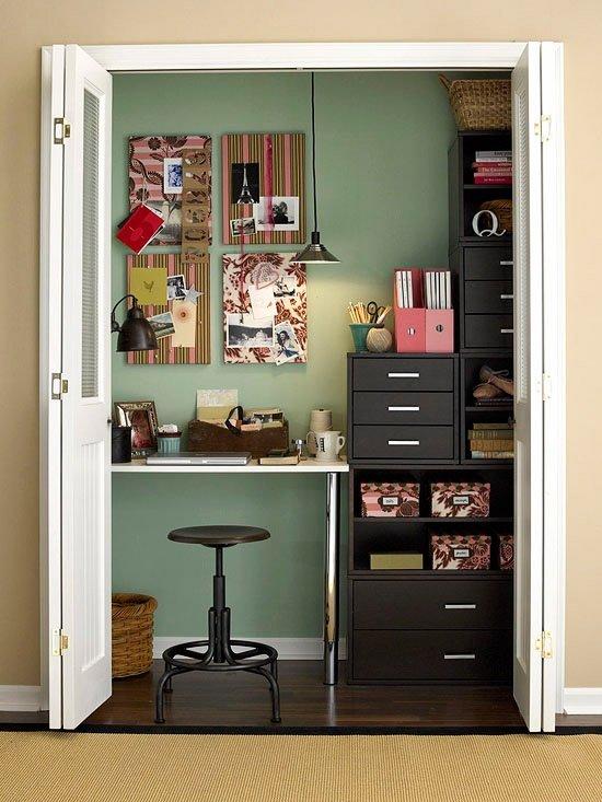 kleine kamers inrichten