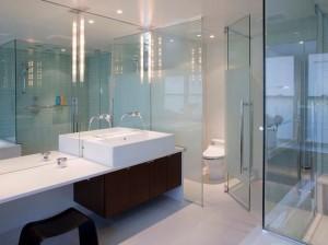 afscheiding wc glas