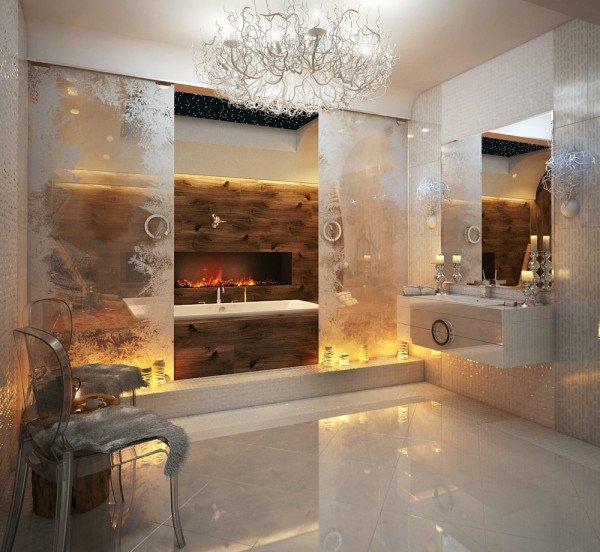 Een diepgaande blik op 8 super luxe badkamers -