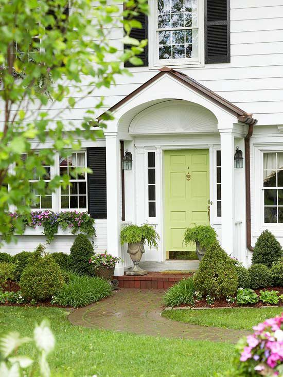 Spring-Green-Front-Door