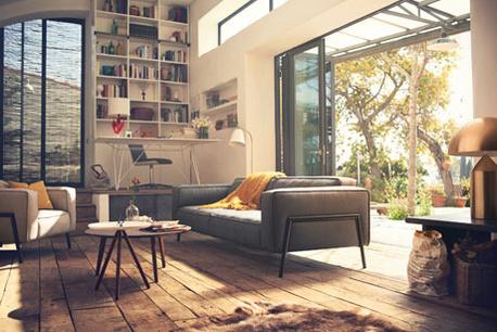 De woning in landelijke stijl decoreren for Modern landelijk wonen