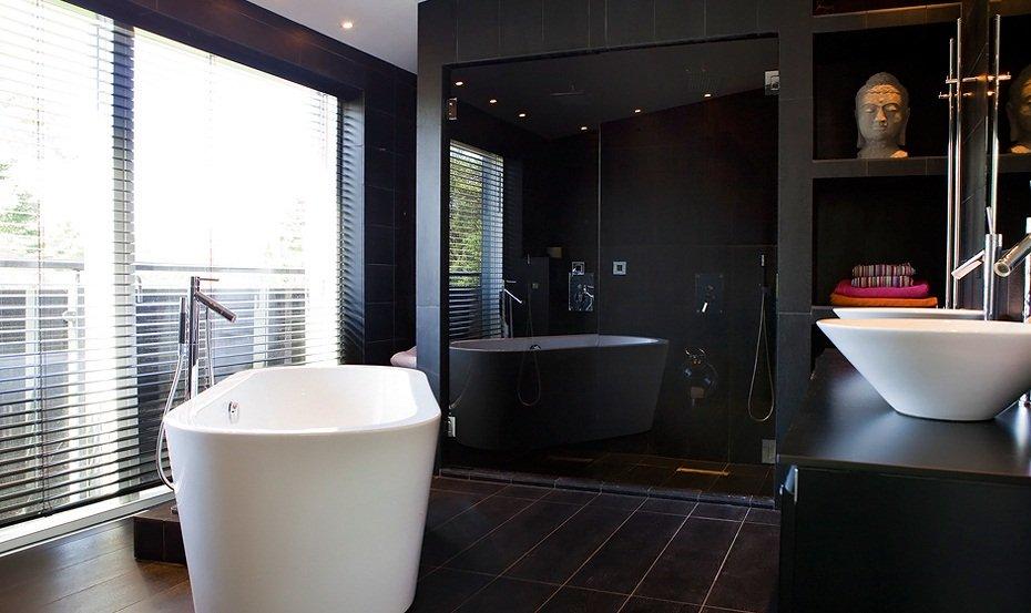 zwarte badkamer trend 2015