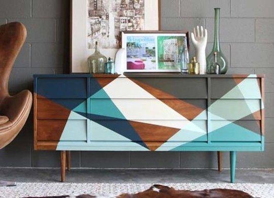 geometrisch DIY meubel